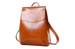 Městský elegantní batoh v imitaci kůže