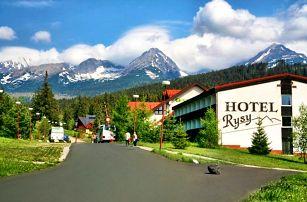 3–8denní pobyt s polopenzí pro 2 v hotelu Rysy*** ve Vysokých Tatrách