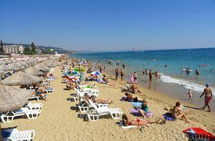 Bulharsko, Zlaté Písky*** busem na 7 nocí pro 1 osobu s ALL INCLUSIVE a bazénem, 5-10/2017