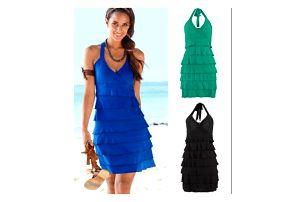 Letní šaty s volánky Denisa