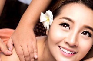 Tradiční thajské masáže pro jednoho nebo pro pár