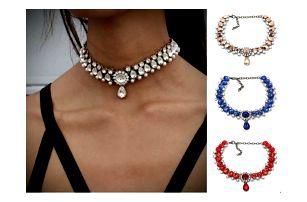 Elegantní choker náhrdelník Luxury