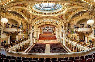 Baletní představení se zpěváky a orchestrem ve Smetanově síni Obecního domu, neděle 18.6.2017