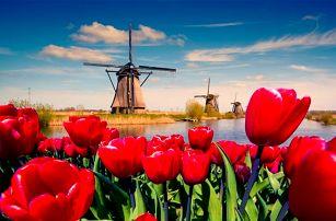 3denní zájezd do Amsterdamu a do parku Keukenhof pro 1