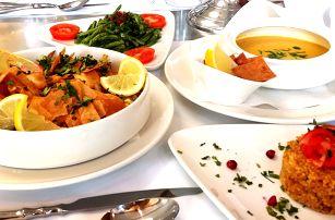 Degustační libanonské menu o pěti chodech