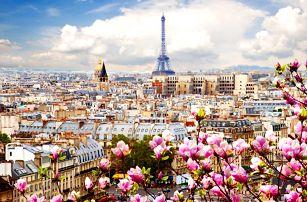 Paříž včetně ubytování na 1 noc a dopravy