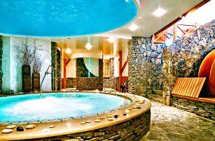 Wellness v Tatrách: jacuzzi bar, vířivka, bazény