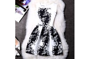 Elegantní šaty s originálními motivy - 21 variant