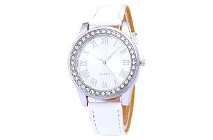 Elegantní dámské hodinky s kamínky ve více barvách