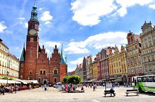 Relax u královské Wroclawi pro DVA s neomezeným wellness a polopenzí