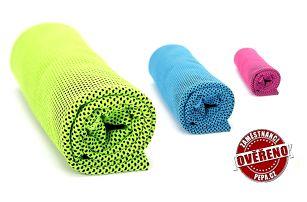 Unikátní chladicí ručník v několika barvách proti vedrům a tropickým teplotám