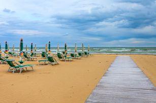 Itálie/Bibione, 3denní výlet z Brna pro 1 os. na celodenní koupání v moři. Termíny 5-9/17