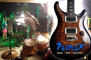 Vstupenka na koncert kapely Perplex s večeří a pivem v restauraci Gatteo v Praze pro 1