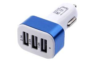 Univerzální nabíječka do autozapalovače - 3 USB porty
