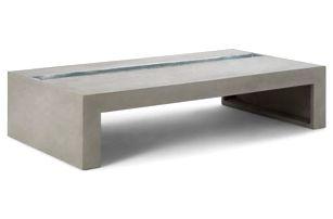 Betonový stolek Lyon Béton Green Rectangular - doprava zdarma!