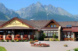 Hotel Amalia ***+ pod Tatrami s polopenzí a neomezeným wellness