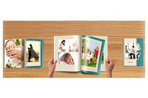 Exkluzivní fotoknihy v šité vazbě, A4 na výšku