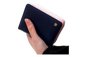 Dámská peněženka v malou korunkou - 4 barvy