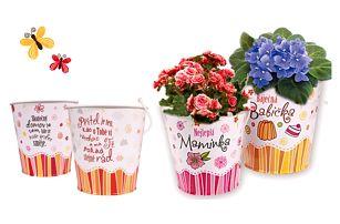 Dárkové obaly na květináče - průměr 11 cm! - VÝPRODEJ
