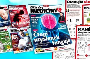Předplatné magazínu 100+1 Zázraky medicíny