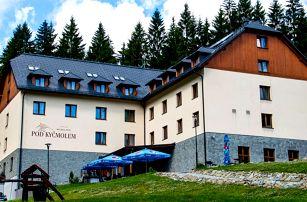 Hotel Pod Kyčmolem **** v Beskydech s polopenzí a neomezeným wellness