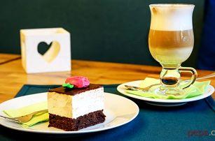 Ptačí mléčko s čajem nebo kávou v pražské kavárně Sweetcakes