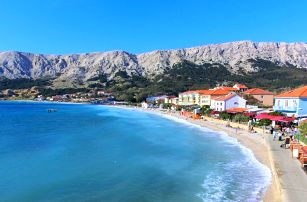 8 dní u moře na chorvatském ostrově Krk