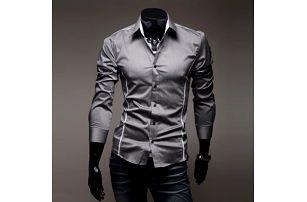 Pánská elegantní košile SLIM FIT - 3 barvy