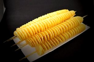 Spirálový kráječ brambor s jehlicemi