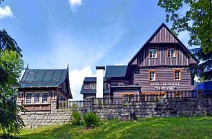 Špindlerův Mlýn pro DVA s polopenzí a neomezeným vstupem do sauny