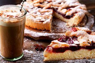 Doběhněte mlsnou: Káva a ovocný koláč