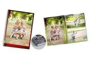 Kroužkové fotoknihy plné vašich fotek