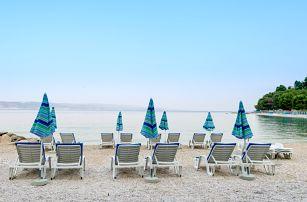 Letní Chorvatsko - Baška Voda, 8 dní u moře pro 1 osobu s polopenzí + možnost busu