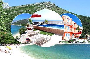 8–10denní Makarská riviera | Villa Paškal*** | Bazén | První řada u moře | Polopenze | Garance nejnižší ceny