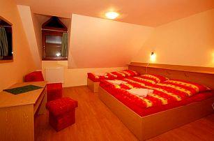 3–4denní pobyt pro 2 se snídaněmi či polopenzí a možností wellness v penzionu Prameň