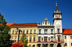 3–5denní pobyt se snídaní a lahví vína pro 2 osoby v hotelu Koruna*** v jižních Čechách