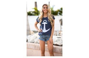 Dámské námořnické tričko - 2 barvy