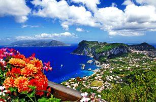 Itálie - Řím, Capri, Vesuv, Neapol a Pompeje: 6denní zájezd pro 1 osobu vč. 3 nocí se snídaní