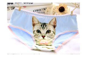 Dámské kalhotky Kočka