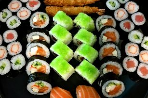 To nejlepší z Asie: Lákavý a bohatý sushi set
