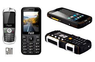 Smartphone Pelitt s dlouhou výdrží nebo odolný či miniaturní mobil