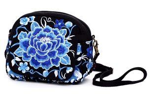 Vyšívaná kabelka přes rameno - více variant