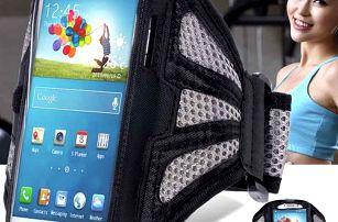 Sportovní pouzdro na paži pro větší smartphony