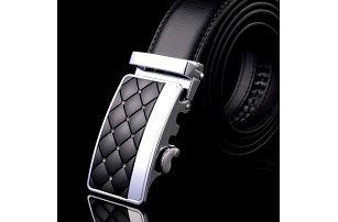 Pánský luxusní koženkový pásek se zajímavou sponou - více variant