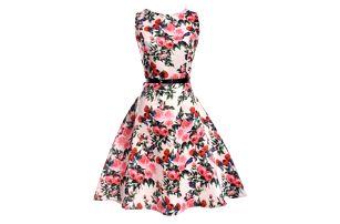 Dámské květinové šaty - 15 barev