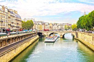 Francie, Paříž: 3denní výlet pro 1 osobu včetně dopravy a průvodce, květen-červenec 2017