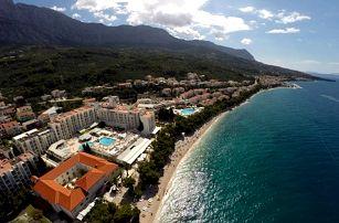 Chorvatsko - Tučepi na 8 dní, polopenze s dopravou vlastní