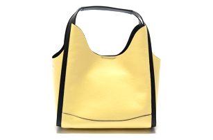 Žlutá kožená kabelka Isabella Rhea Ravenea - doprava zdarma!