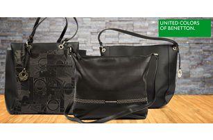 Elegantní černé kabelky Benetton