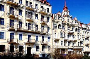 Mariánské Lázně - wellness pobyt pro dva v Hotelu Kossuth***, s polopenzí a spoustou procedur.